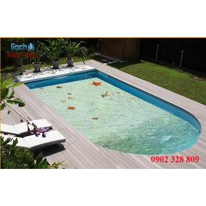 Gạch lát nền 3D bể bơi GHB17