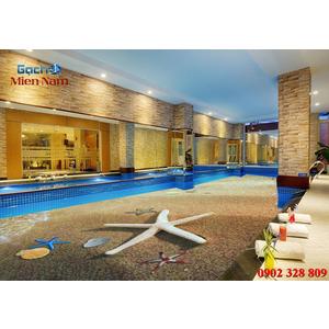 Gạch lát nền 3D bể bơi GHB20