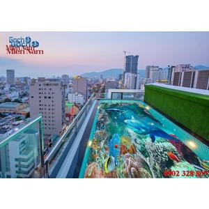 Gạch lát nền 3D bể bơi GHB21
