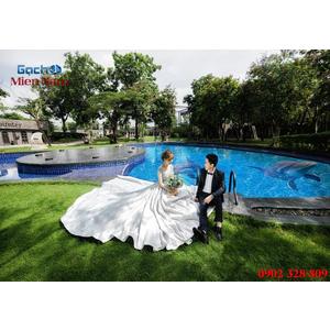Gạch lát nền 3D bể bơi GHB37