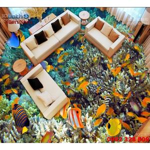 Gạch Lát Nền 3D Đại Dương SDD07