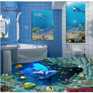 Gạch Lát Nền 3D Đại Dương SDD13