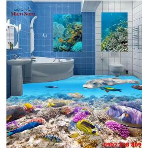 Gạch Lát Nền 3D Đại Dương SDD16