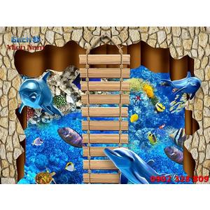Gạch Lát Nền 3D Đại Dương SDD33