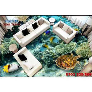 Gạch Lát Nền 3D Đại Dương SDD34