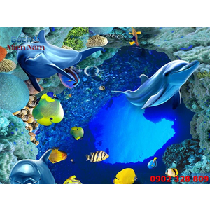 Gạch Lát Nền 3D Đại Dương SDD35