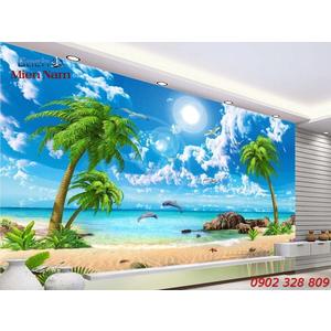 Gạch Tranh 3D Cảnh Biển CB03