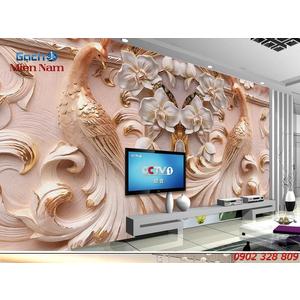 Gạch Tranh 3D Hạnh Phúc Viên Mãn CCM38