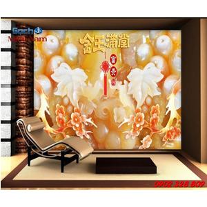 Gạch Tranh 3d Mẫu Giả Ngọc GN32