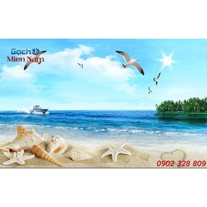 Gạch Tranh 3d Mây Biển CB50