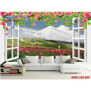 Gạch Tranh 3D Phòng ngủ HTM50