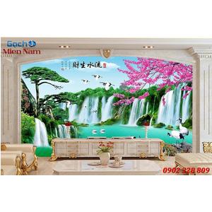 Gạch Tranh 3D Sơn Thủy Hữu Tình STM324