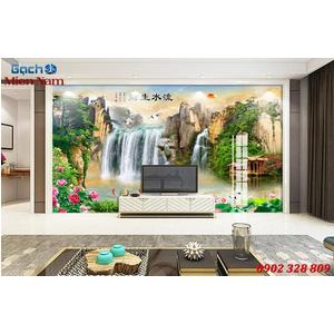 Gạch Tranh 3D Sơn Thủy Hữu Tình STM363