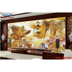 Gạch Tranh 3D Sơn Thủy STM53