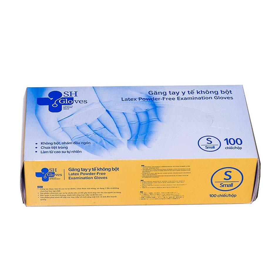 Găng tay cao su y tế không bột SH Gloves