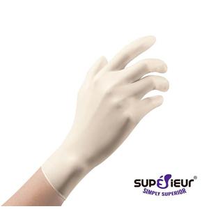 Găng tay có bột latex Superrieur
