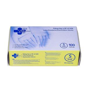 Găng tay cao su y tế có bột SH Gloves