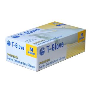 Găng tay cao su y tế có bột T-Glove