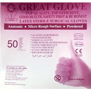 Găng tay phẫu thuật tiệt trùng Great Glove