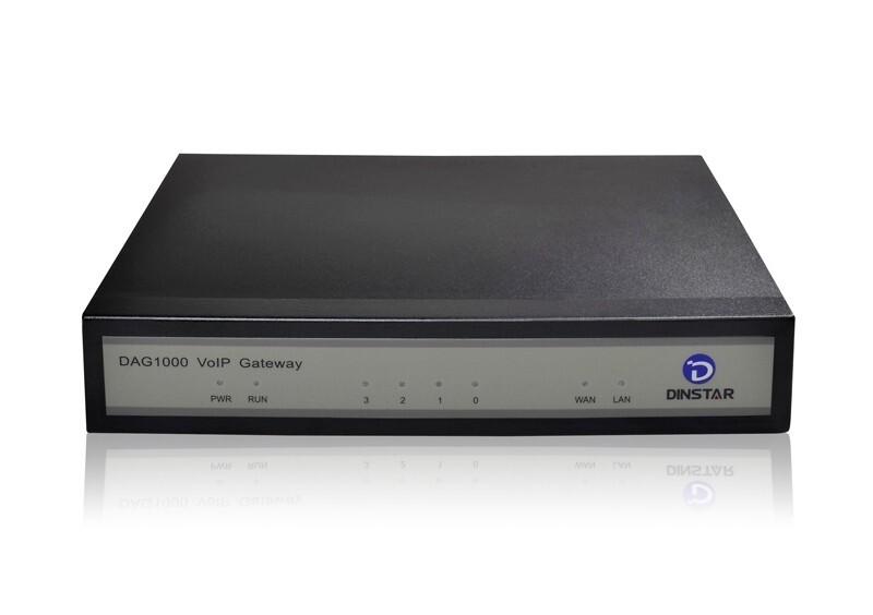 Gateway DAG1000_4FXO - Gateway giao tiếp IP 4 cổng FXO