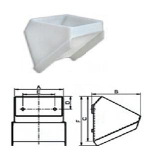 Gầu tải nhựa - gầu múc liệu - DM
