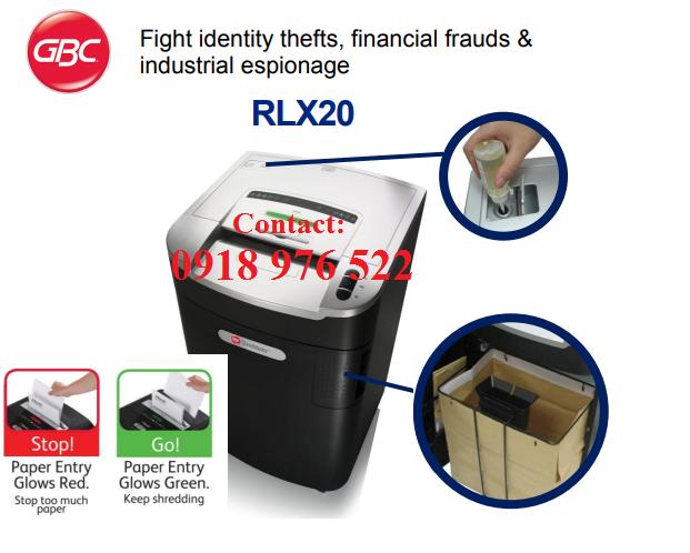 Máy hủy giấy GBC RLX 20