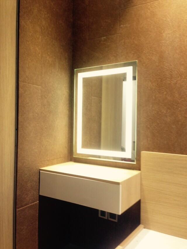 Gương đèn led hình chữ nhật