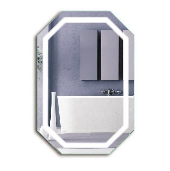 Gương led nhà tắm lục giác Citybuilding CBJ 188T