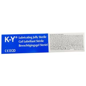 Gel bôi trơn K-Y Jelly Sterile 82 gr