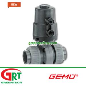 Gemu 410 | Van bướm điều khiển bằng khí Gemu 410 | Pneumatically-actuated butterfly valve Gemu 410