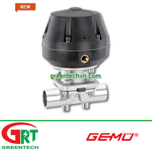 Gemu 687 | Van màng điều khiển bằng khí Gemu 687 | Globe valve / pneumatically-actuated Gemu 687