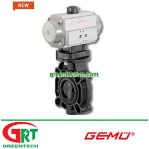 Gemu D451 | Van bướm điều khiển bằng khí Gemu N451 | Pneumatically-operated butterfly valve GemuN451