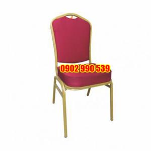 Ghế nhà hàng chân sắt vuông 20 x 1,2ly