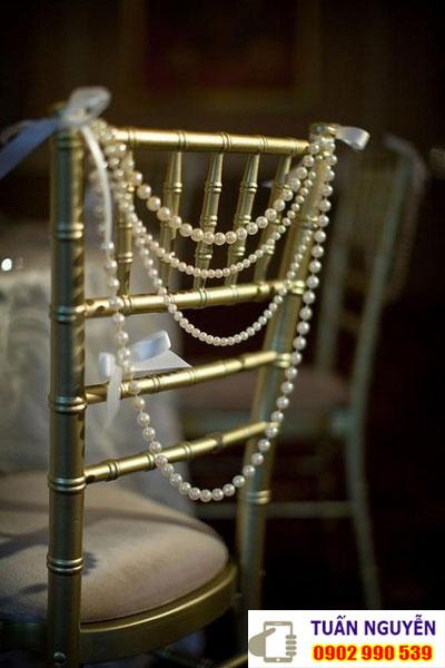 Cung cấp ghế tiệc cưới