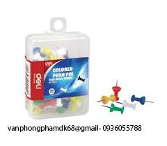 Ghim mũ nhựa màu Deli(0021)