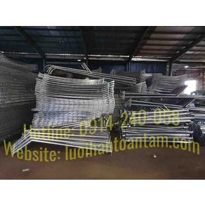 Gia công hàng rào lưới thép theo yêu cầu