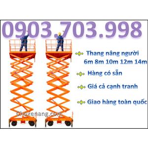 GIÁ THANG NÂNG NGƯỜI 10M (SJY0.3-10)