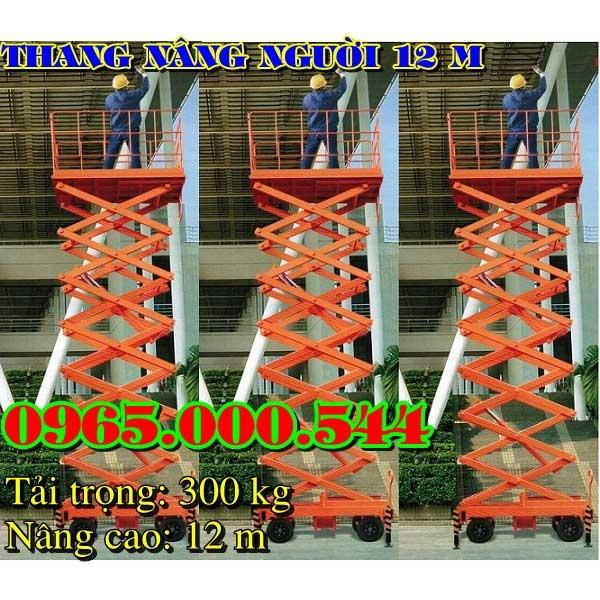 giá thang nâng người 12 m tại hà Nội