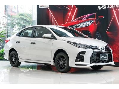 Giá xe 5 chỗ Toyota Vios 1.5 GRS phiên bản thể thao