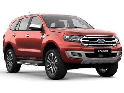 Giá xe lăn bánh Ford Everest 2021 tại Ford Thanh Hóa