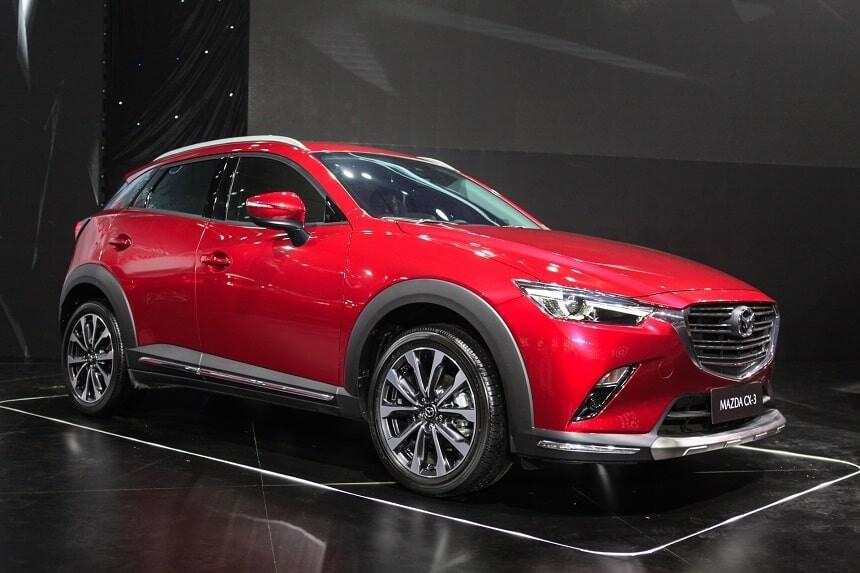 Giá xe Mazda CX-3 mới