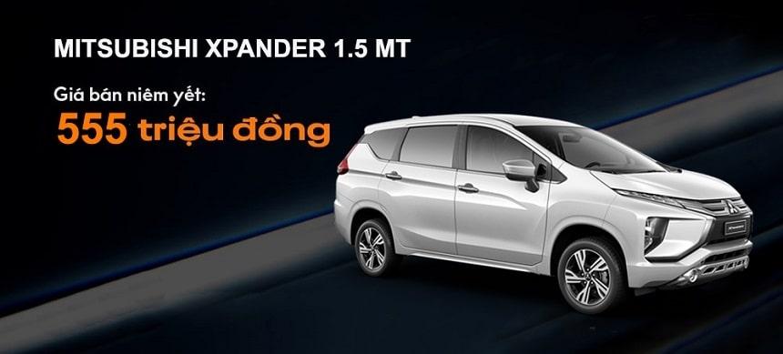 Giá xe Mitsubishi Xpander phiên bản 1.5 MT số sàn