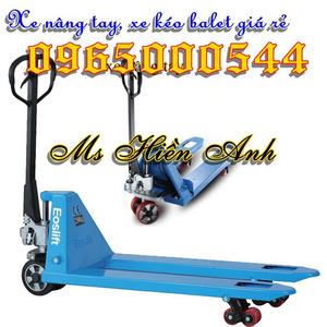 Giá xe nâng tay 2.5 tấn nhập khẩu chất lượng nhất