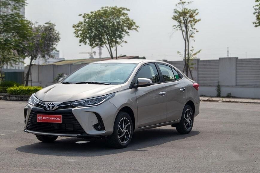 Giá xe Toyota Vios phiên bản G mới nhất