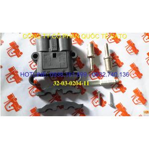 Giắc cắm Rema 80A 150V 25 sq mm M ( 32-03-0204-11)