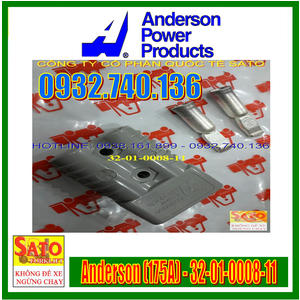 Giắc Cắm Sạc Xe Nâng Anderson (175A, 600V) 32-01-0008-11