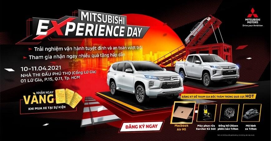 Giải thưởng tại Sự kiện Mitsubishi Experience Day
