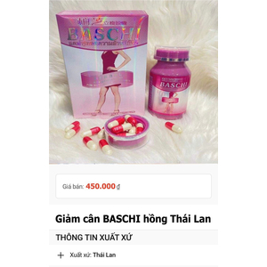 Giảm cân bachi hồng Thái Lan