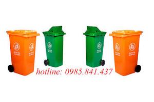 Giảm giá đặc biệt thùng rác 120 lít, 240 lít, 660 lít, thùng rác công cộng