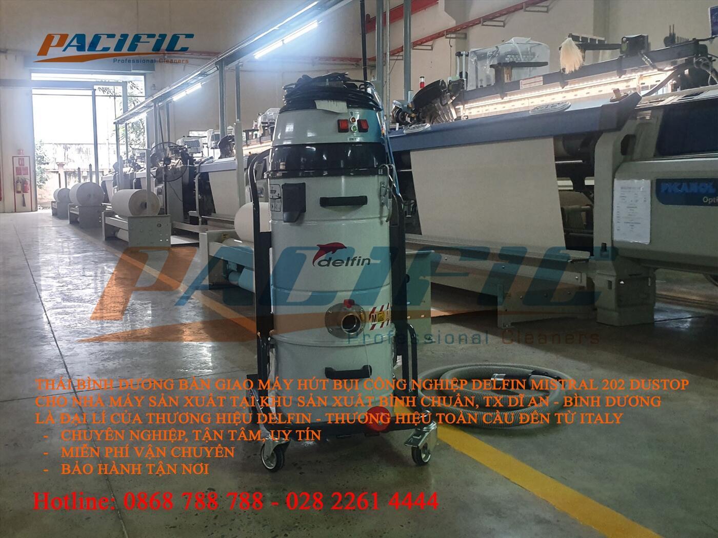 Máy hút bụi công nghiệp Delfin MTL 202 DS